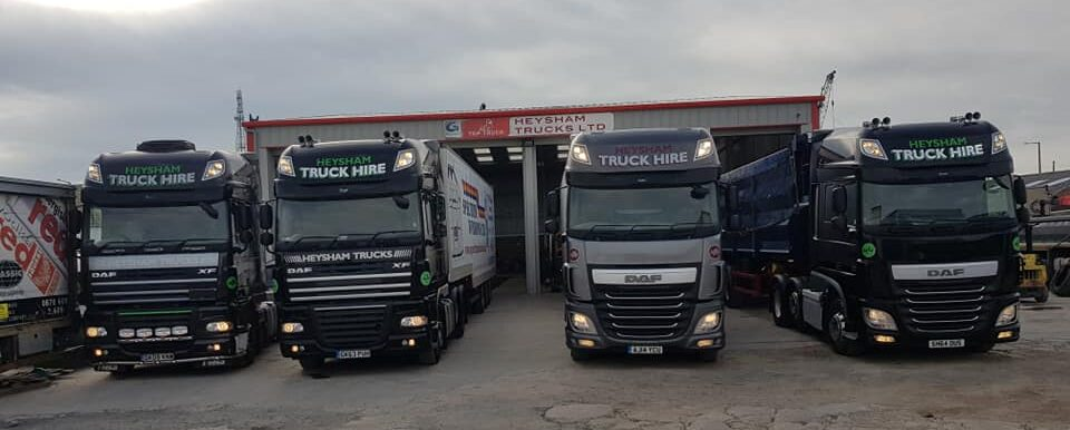 Heysham Trucks | Heysham Truck Hire | Commercial Repair