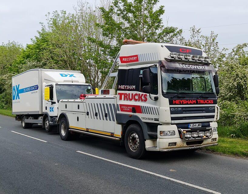 Heysham Trucks | Commercial Vehicle Recovery | HGV Recovery